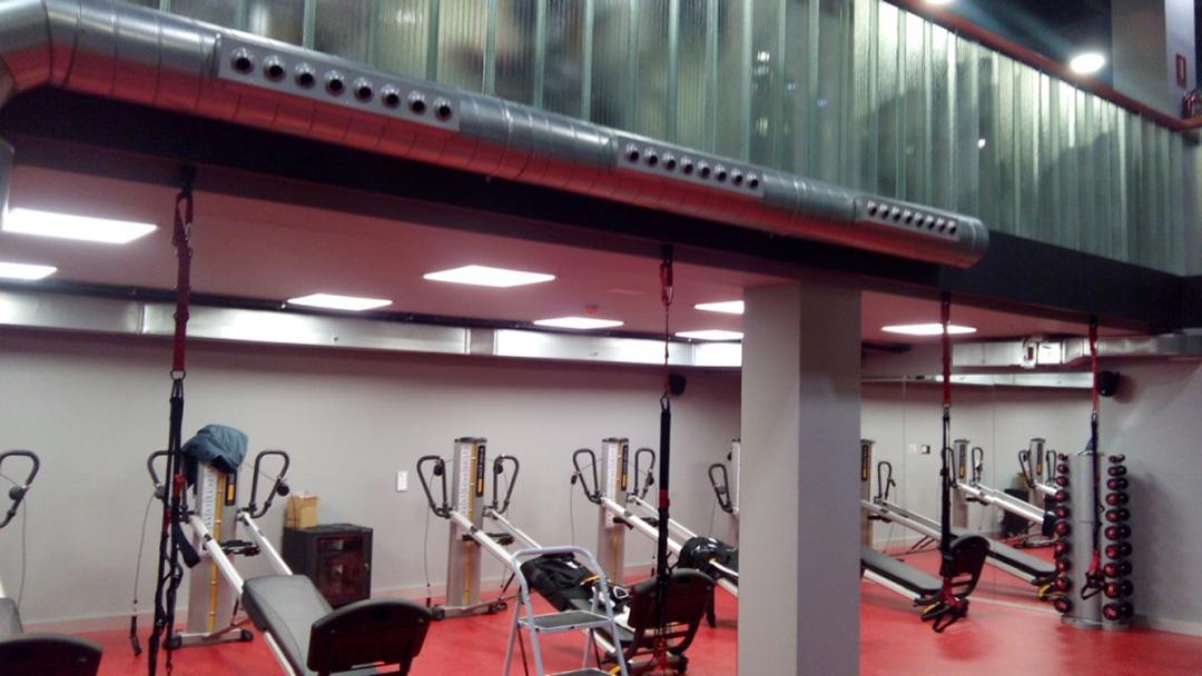 Centro deportivo Volcano, Burgos. Gimnasio