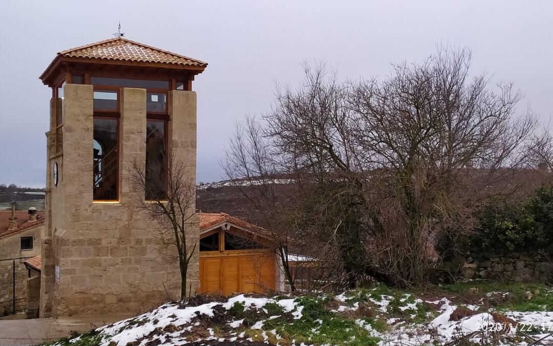 Restauración de la torre de Reinoso