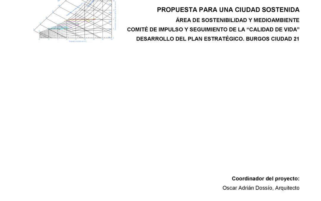 Propuesta para una ciudad Sostenible