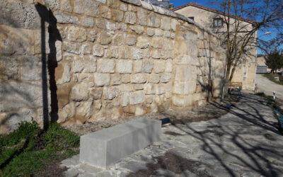 Urbanización entorno antigua iglesia de Reinoso